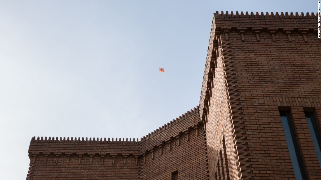The Red Brick Art Museum, on the outskirts of Beijing, is funded by property developer Yan Shijie.