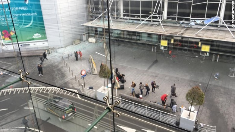 Video: They saw the Brussels attack