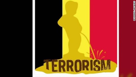 Peeing Boy Symbol Brussels terror attack Manneken Pis moos pkg erin_00013519