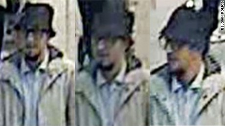 Police are searching for this man in connection with the airport bombings.