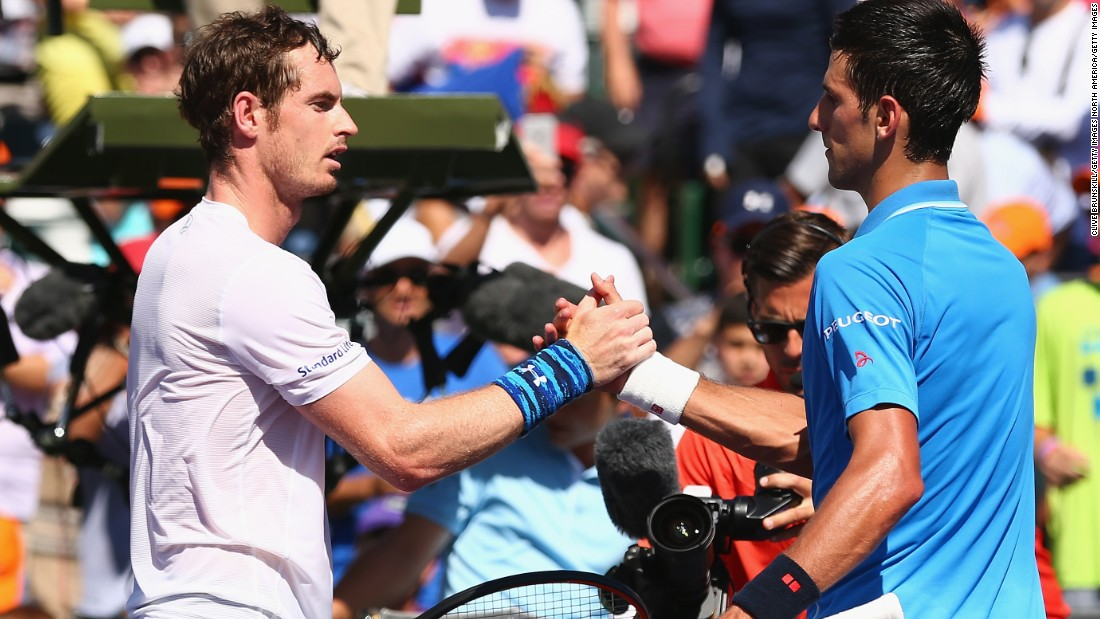 Federer and Nadal have been replaced at the top of the game by Djokovic, right, and Murray, left. Djokovic won the first two majors this year, while Murray won Wimbledon and the Olympics.