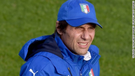 Conte is hoping for success at Euro 2016 with the Italian national team.