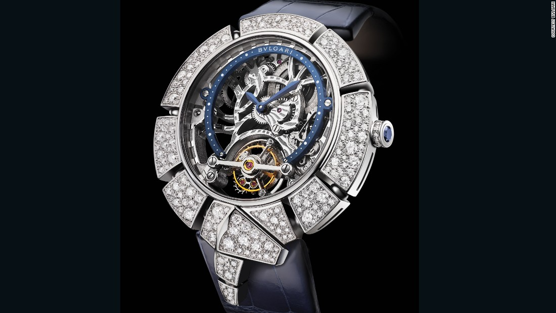 "It is one thing to have the expertise in stone-setting, another in the mechanics of fine watchmaking, and quite another in combining the two. ""That combination of skills is something very few companies can do,"" explained Jean-Christophe Babin, the CEO of Bulgari"