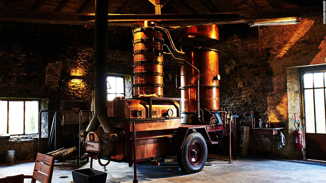 """We're not competing with Cognac -- they're much better at marketing than we are,"" says Benoit Hillion of Bas-Armagnac Dartigalongue, the oldest brandy producer in the region."