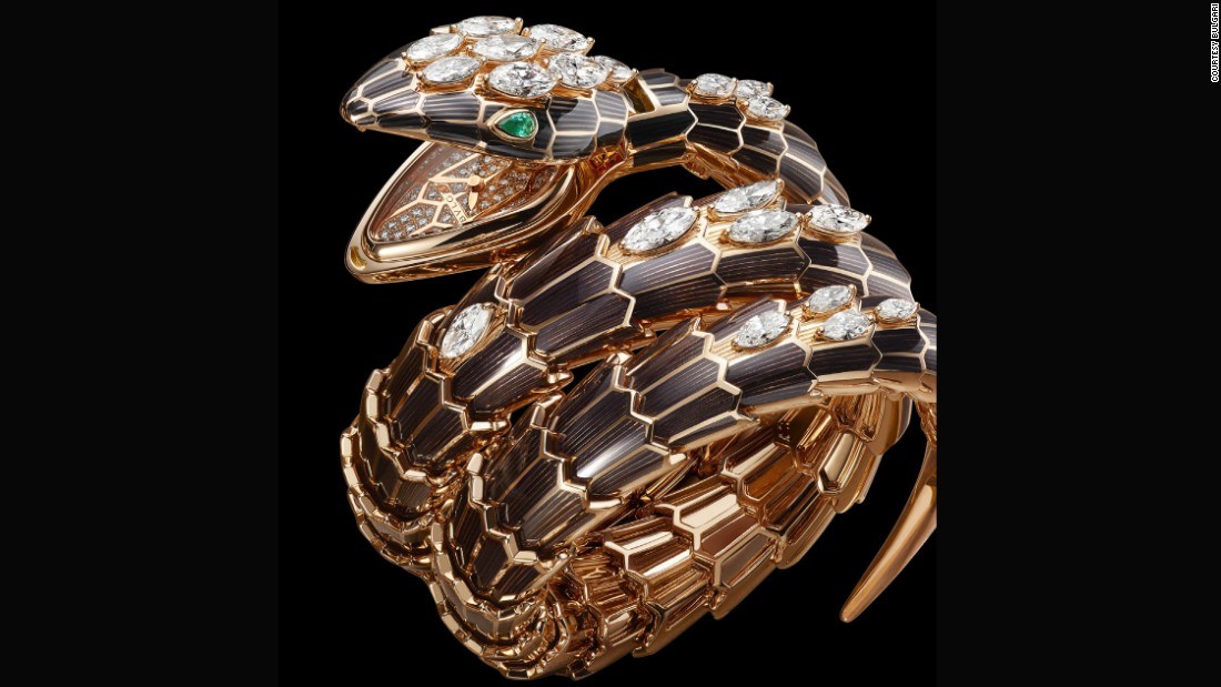 Bulgari's 2016 Serpenti Incantati, or snake bracelet, in which the timepiece is found secreted in the serpent's mouth, is an example of skilled design.