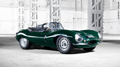 Behind the wheel of the resurrected Jaguar XKSS with model David Gandy