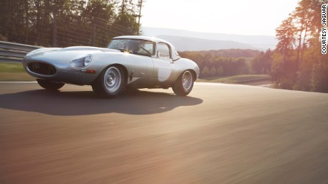The lightweight E-Type was Jaguar Land Rover Classic's first 'continuation' project.