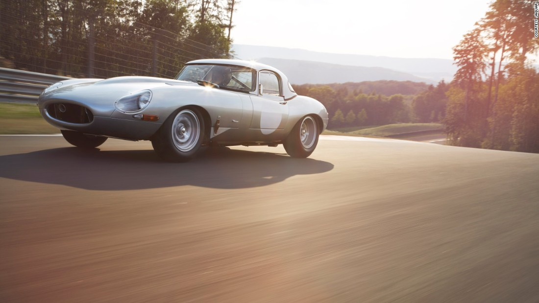 "The lightweight E-Type was Jaguar Land Rover Classic's first ""continuation"" project."