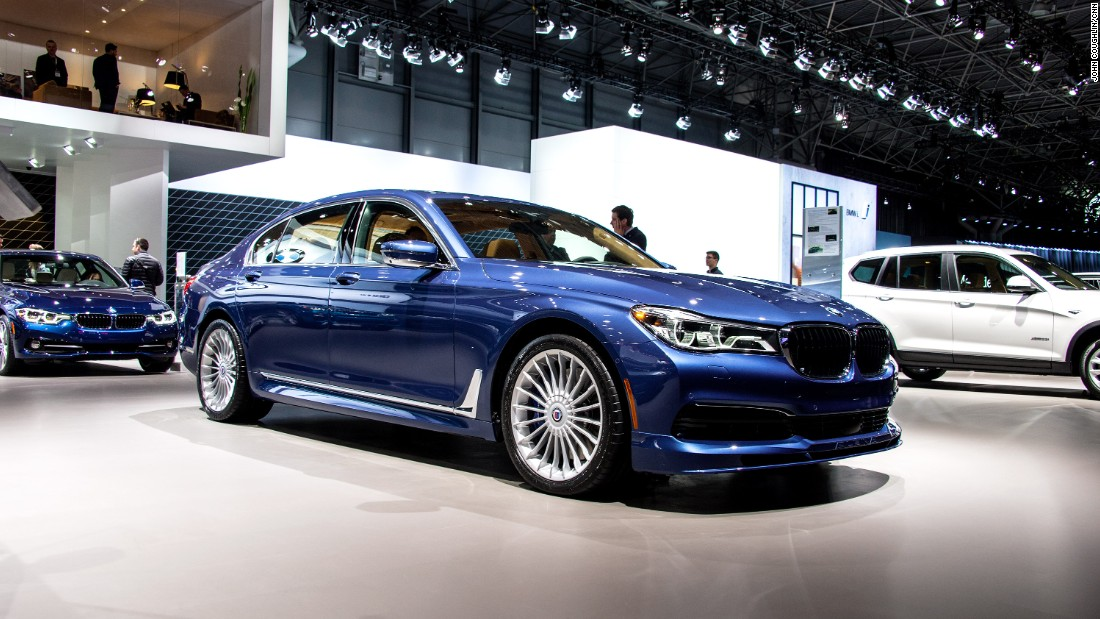 "It may be a luxury sedan, but <a href=""http://www.bmwusa.com/"" target=""_blank"">BMW's</a> latest collaboration German manufacturer Alpina is able to reach supercar speeds. It can go from 0-60 mph in a mere 3.6 seconds."