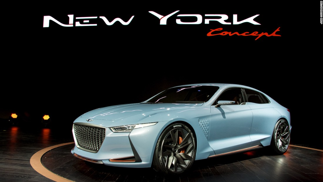 "The latest hybrid concept from <a href=""https://www.hyundaiusa.com/"" target=""_blank"">Hyundai</a> demonstrates the futuristic aesthetic it has planned for Genesis, its newly launched luxury division."