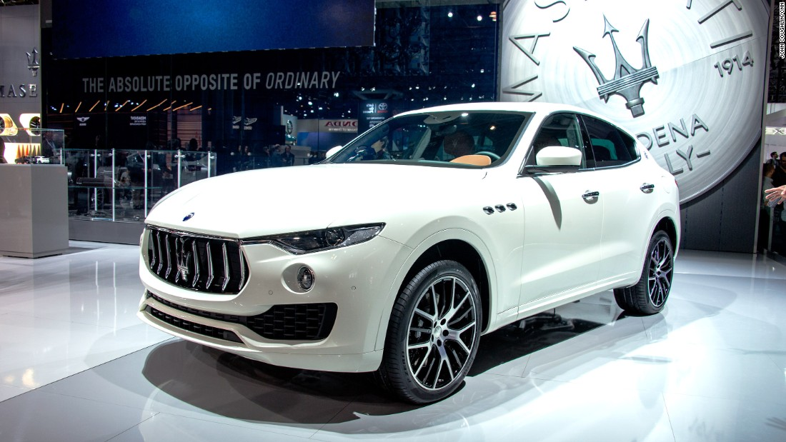 "Behold! It's <a href=""http://www.maserati.com/maserati/en/en/index.html"" target=""_blank"">Maserati's</a> first ever SUV, the Levante.<br /><br />When this SUV goes on sale in the U.S., prices are expected to start in the low $70,000 range.<br /><br />A number of exotic car companies are moving into the SUV market, including Lamborghini, Bentley and Rolls-Royce. Maserati isn't quite in that elevated territory, though."