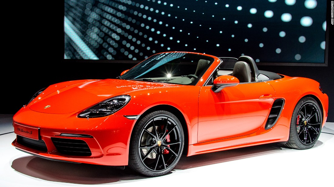 "<a href=""http://www.porsche.com/"" target=""_blank"">Porsche's</a> new 718 Boxster features a turbo-charged four-cylinder engine that cranks out more horsepower and torque than the six-cylinder in the previous Boxster. It's more fuel efficient as well.<br /><br />The exterior design got a facelift, resulting in a more modern look that's still distinctly Porsche."