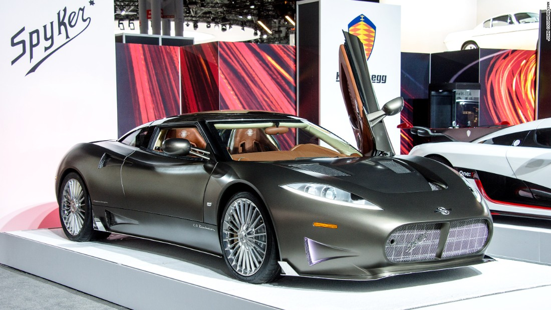 "<a href=""http://www.spykercars.com/"" target=""_blank"">Spyker's</a> motto is ""Nulla tenacia invia est via."" In Latin, that means, ""For the tenacious, no road is impassable."" The Dutch supercar maker is known for unusual but elegant designs. The Preliator is powered by a supercharged Audi V8 engine and its name means ""warrior"" in Latin. The word pays homage to, among other things, Spyker's own financial struggles over the last several years."