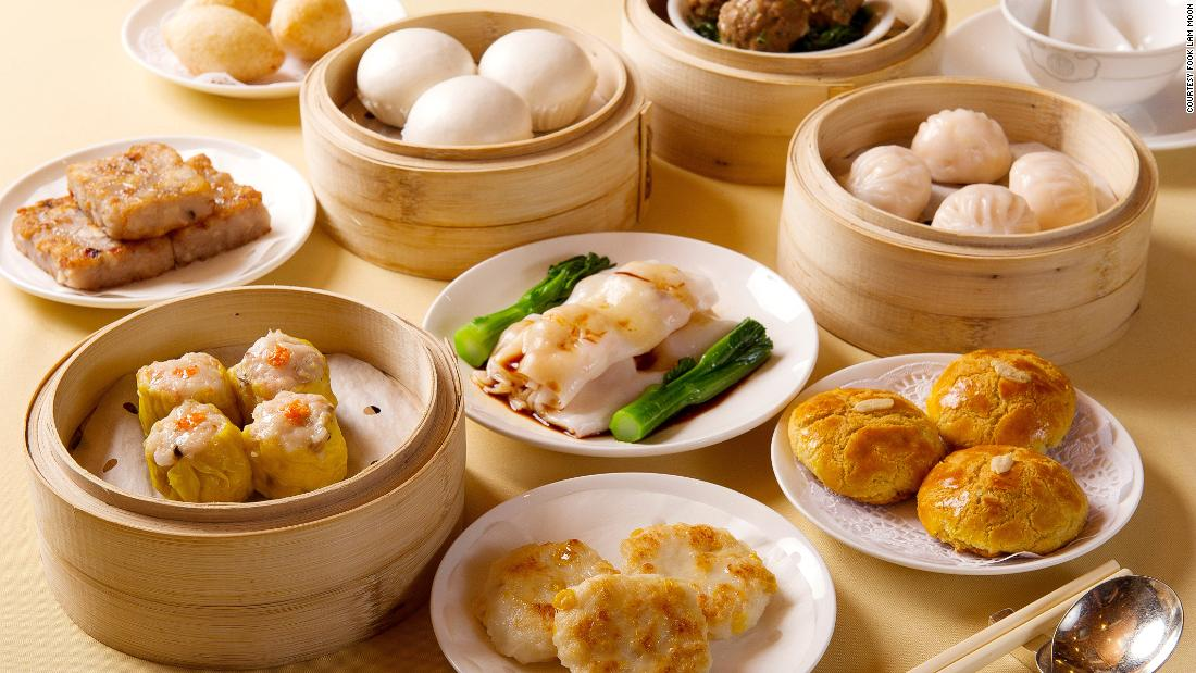 Baskets of steaming dim sum. Fragrant tea. These conjure our favorite images of Hong Kong. Fook Lam Moon (pictured) is one of HK's best dim sum restaurants.