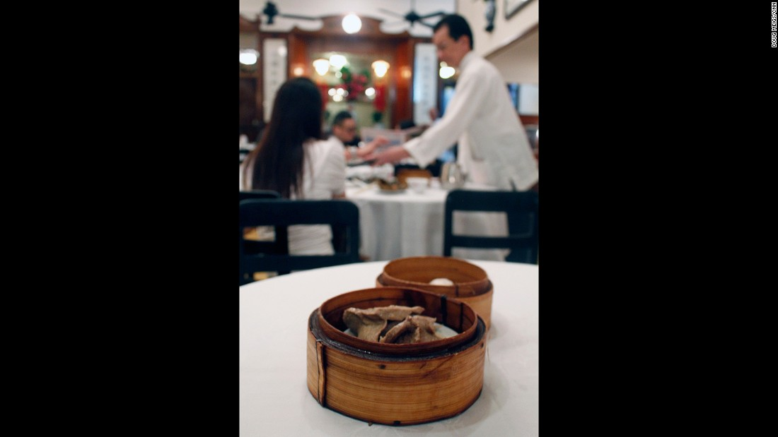 Luk Yu's service may be intimidating and its dim sum mediocre, but it should be tried at least once for its rare old school Hong Kong glamor.