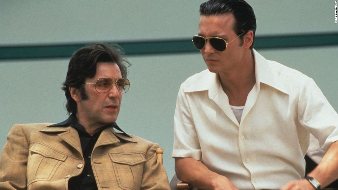 "<strong>""Donnie Brasco""</strong>: Al Pacino plays a mobster and Johnny Depp is deep undercover. Based on the life of former FBI agent Joseph Dominick Pistone. (<strong>Hulu) </strong>"