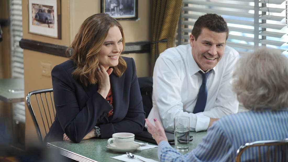 "<strong>""Bones""</strong>: Emily Deschanel and David Boreanaz are partners in every sense of the word in this forensic drama series. <strong>(Hulu)</strong>"