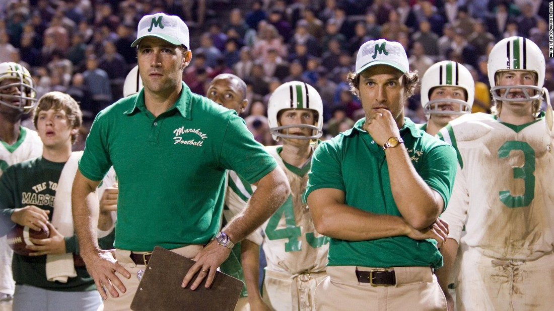 "<strong>""We Are Marshall""</strong>: Matthews Fox and McConaughey star in this based-on-a-true-story about a university after members of its football program are killed in a plane crash.<strong> (HBO Now) </strong>"