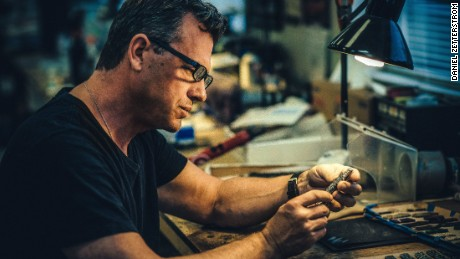Majority of the company's products are hand-carved due to their fragility