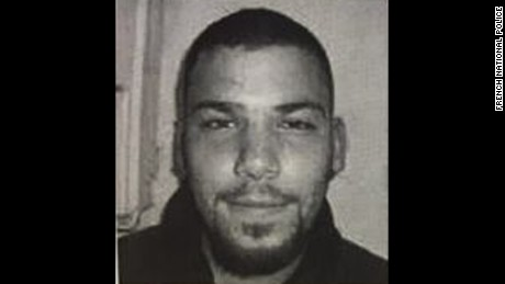A bulletin distributed by the French National Police depicts Naim al Hamed.