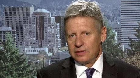 Libertarian candidate gains in polls Gary Johnson_00005306