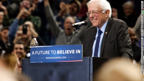 Bernie Sanders is this year's biggest story