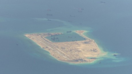 Power struggle over island in South China Sea