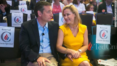 Heidi Cruz back in the spotlight