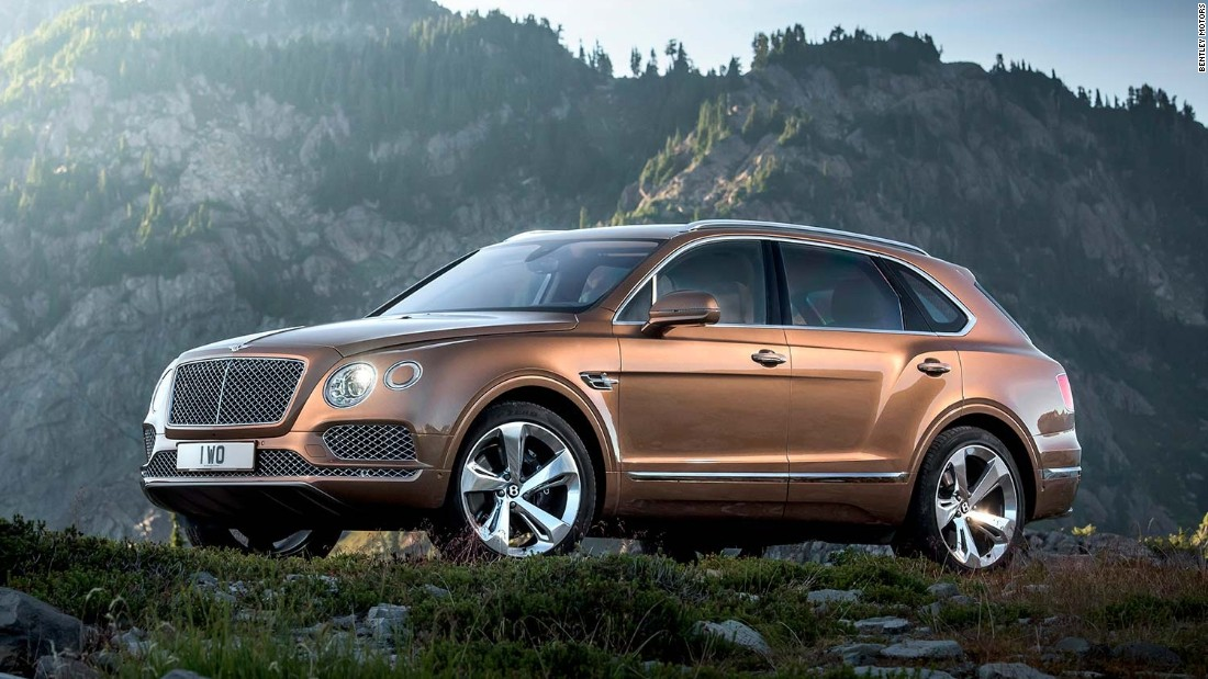 Bentley proclaimed the vehicle to be the world's fastest, most exclusive, and expensive SUV.