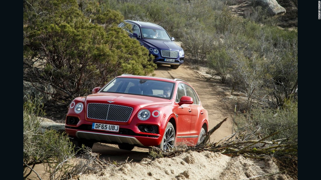 The Bentayga's first edition runs to 608 vehicles -- all of them have already sold.