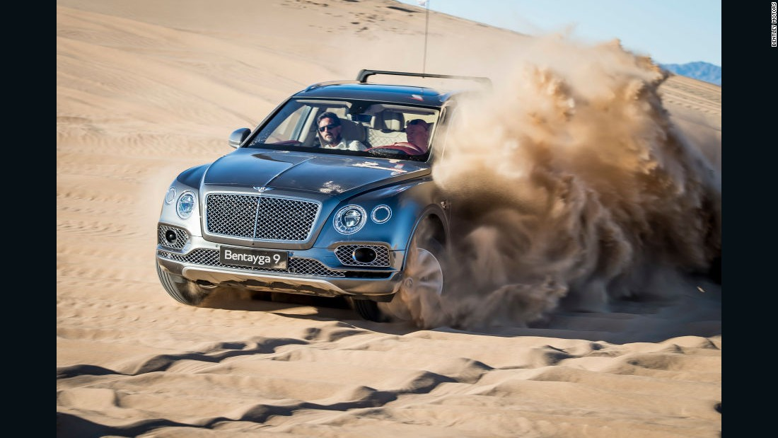 The Bentayga can go from 0-60 mph in 4 seconds.