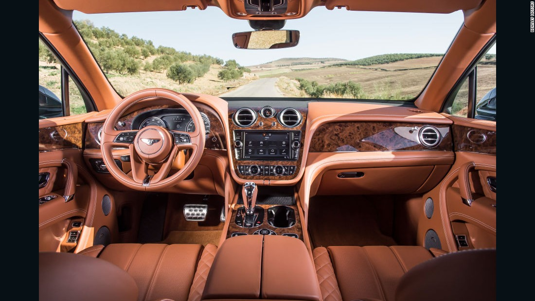 "The Bentayga benefits from the attention of the marque's <a href=""http://www.bentleymotors.com/en/world-of-bentley/our-story/mulliner/introducing-mulliner/welcome-to-mulliner.html"" target=""_blank"">Mulliner</a> specialist coach-building department, making each example a truly bespoke creation."