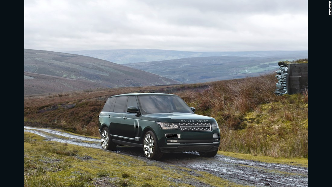 "This model is a highly customized version of the luxury SUV brand's pinnacle model, the <a href=""http://www.landrover.co.uk/vehicles/range-rover/svautobiography/index.html"" target=""_blank"">SVAutobiography</a>, and is selling for $244,500."