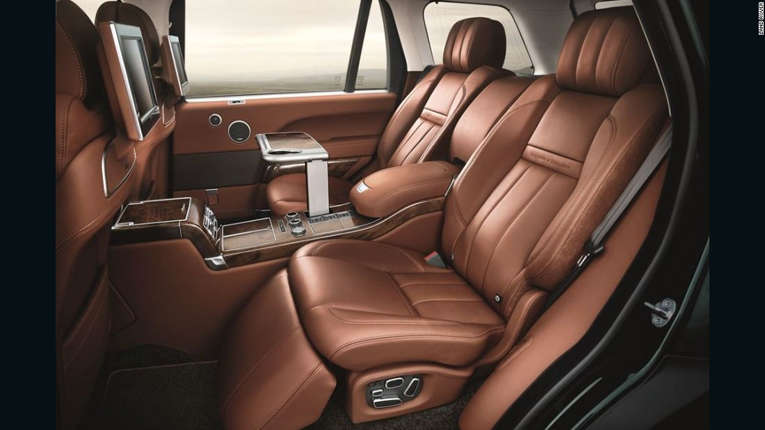 Only 30 examples of the Holland & Holland Range Rover are being produced.