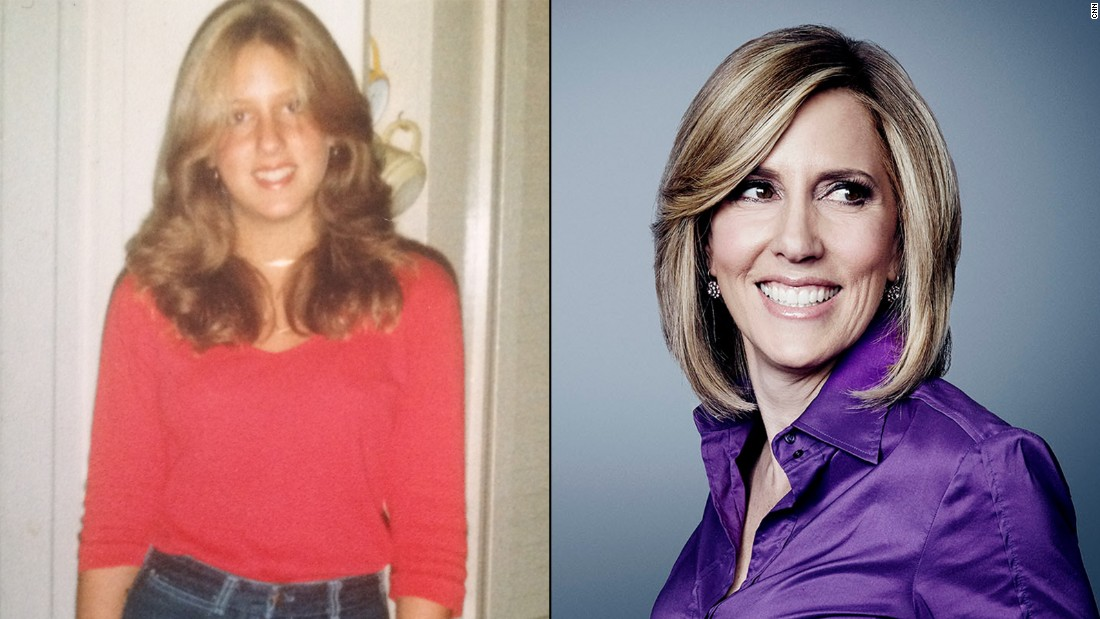 Alisyn Camerota is all smiles on her first day of high school in 1981.