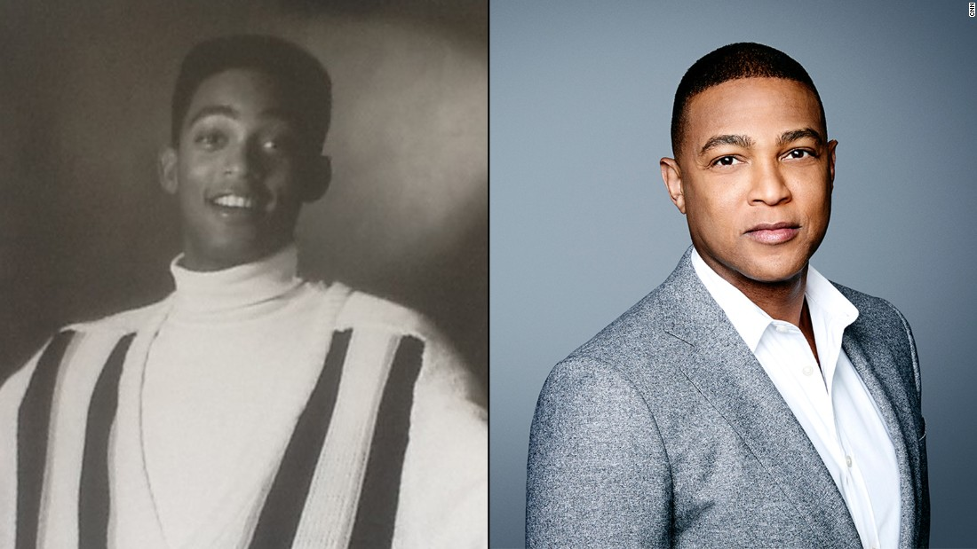 Quick wit, authentic approach <em>and</em> good looks? Yes, that's right. Years before hosting his prime-time CNN show, Don Lemon was camera-ready as a model in 1989.