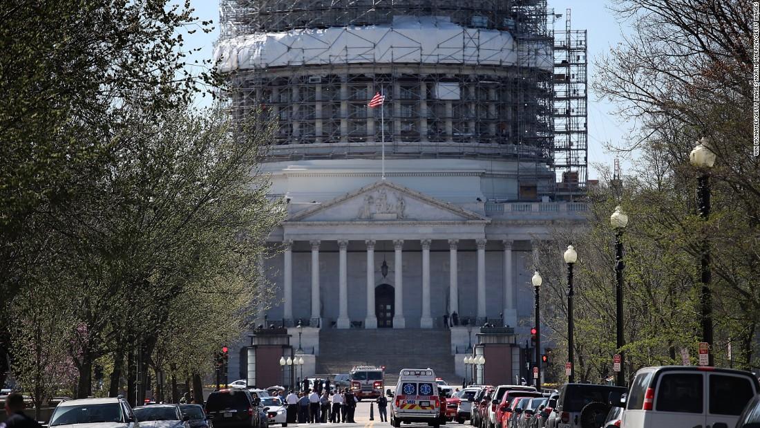 Capitol shooting: Suspect in custody - CNNPolitics.com