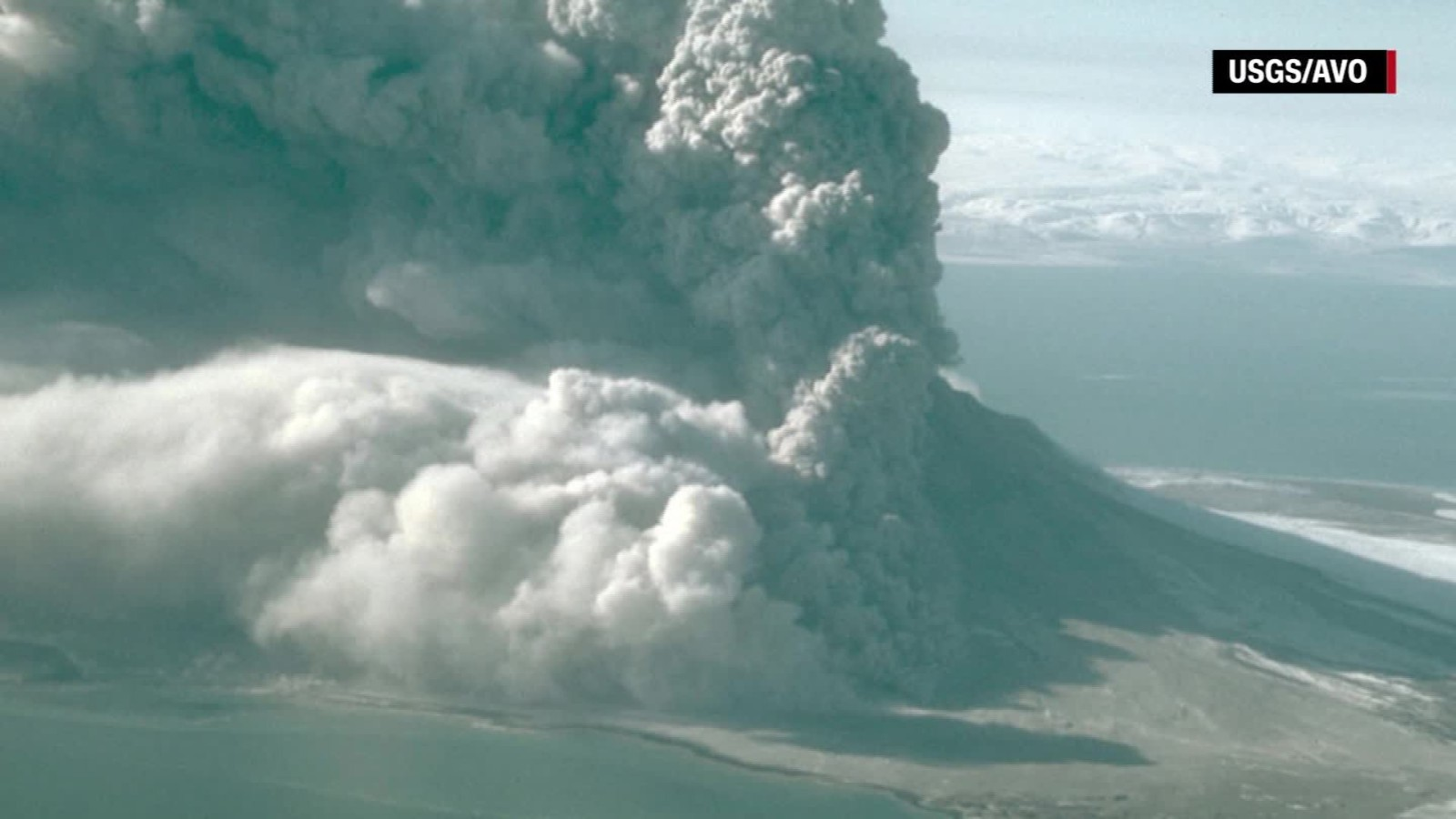 Image result for Planes warned after Alaskan volcano erupts