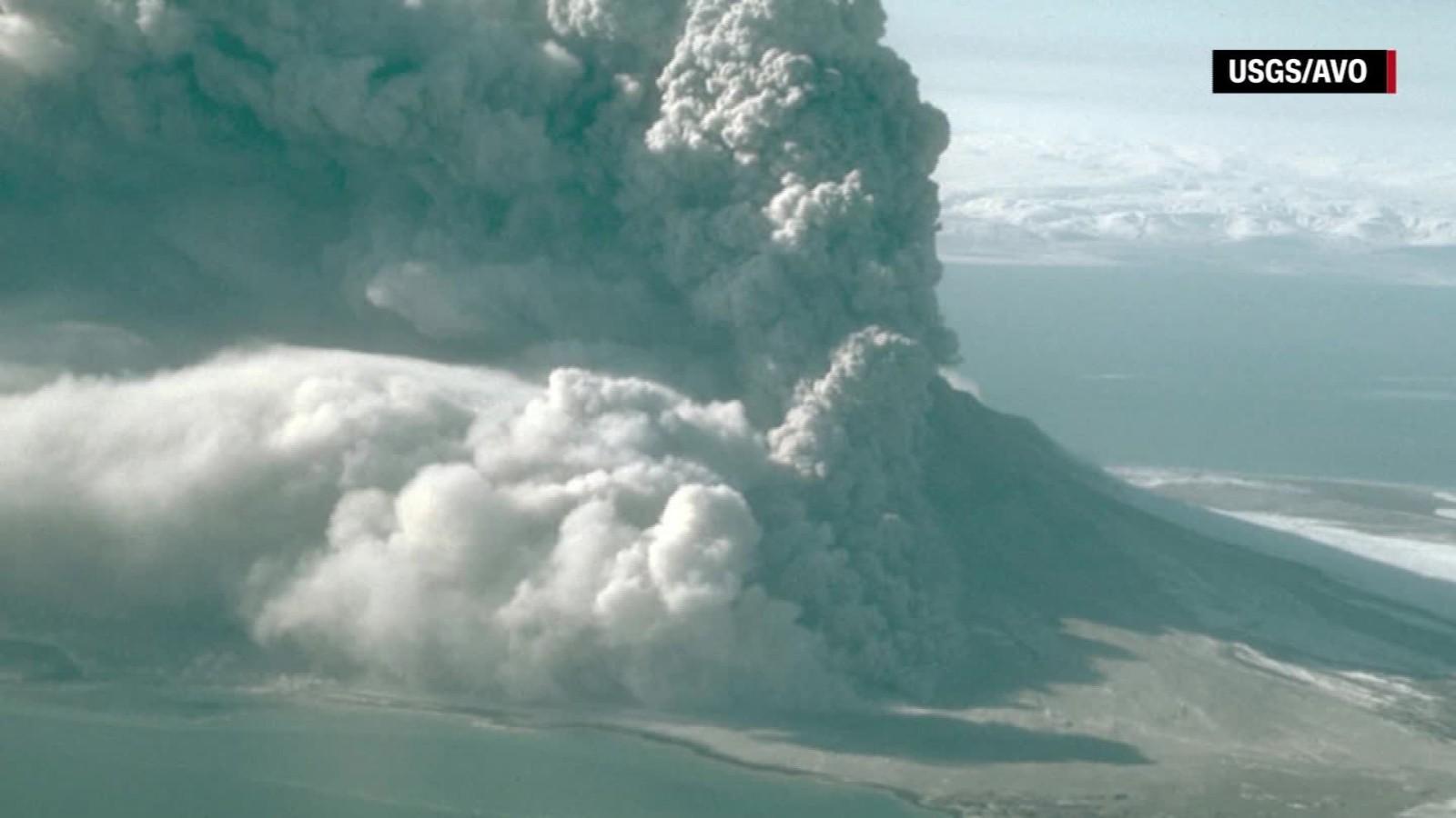Image result for Planes warned after Alaskan volcano erupts