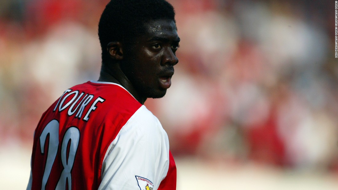 A rock of Arsenal's unbeaten league season in 2004, Kolo since joined his brother Yaya for a spell at Manchester City, and now plies his trade with Liverpool.