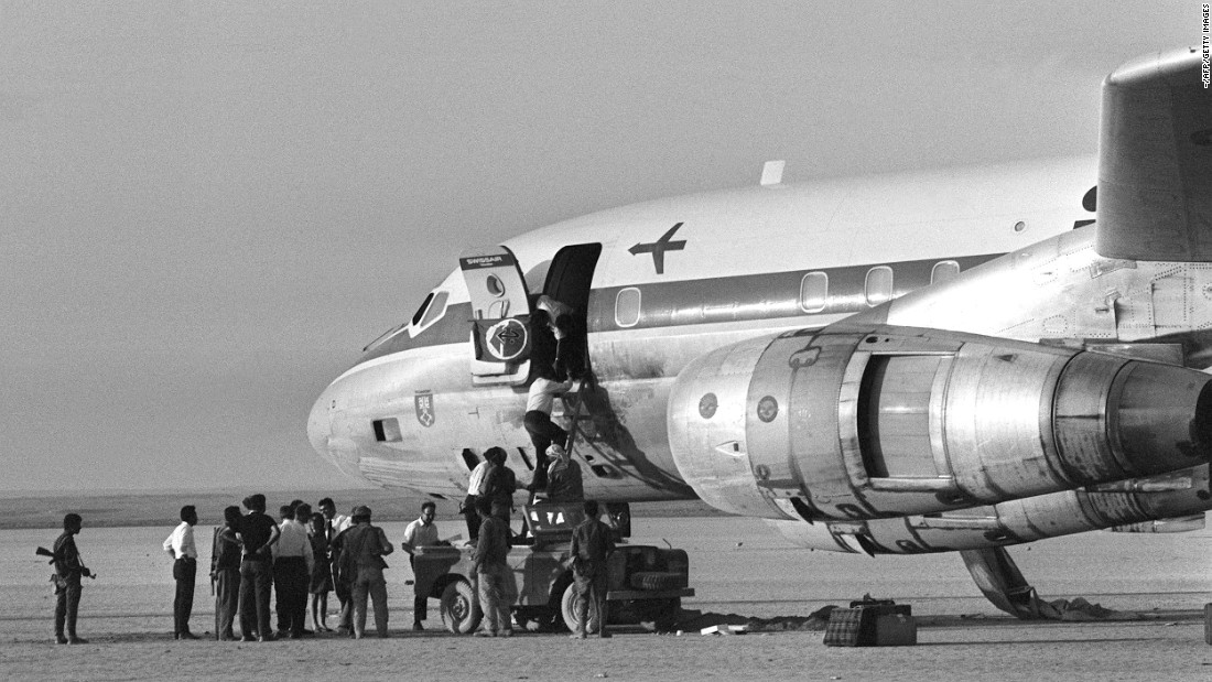 A Swissair plane was hijacked in September 1970 by the Popular Front for the Liberation of Palestine. The group hijacked four planes.