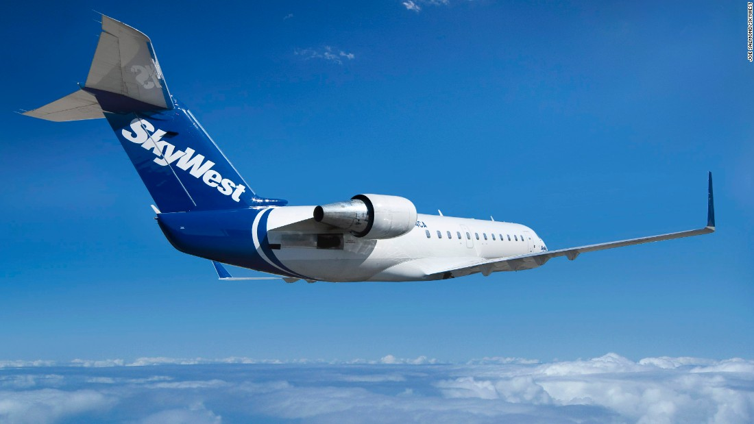 SkyWest ranked seventh.