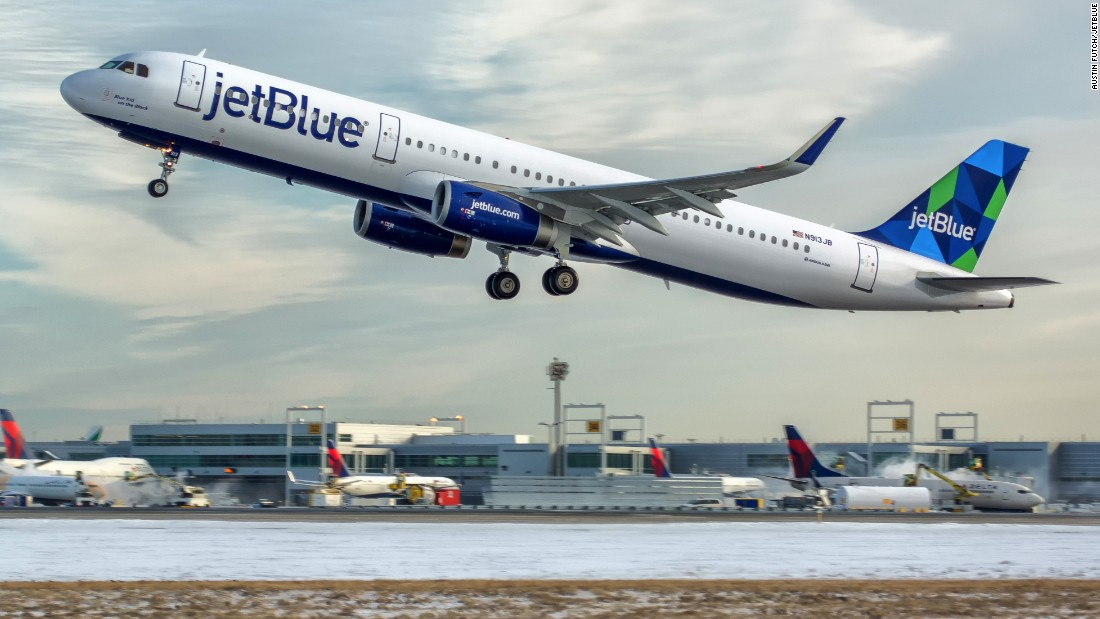 Ranked No. 2 overall, JetBlue had the best performance in 2015 in the involuntary denied boardings category.