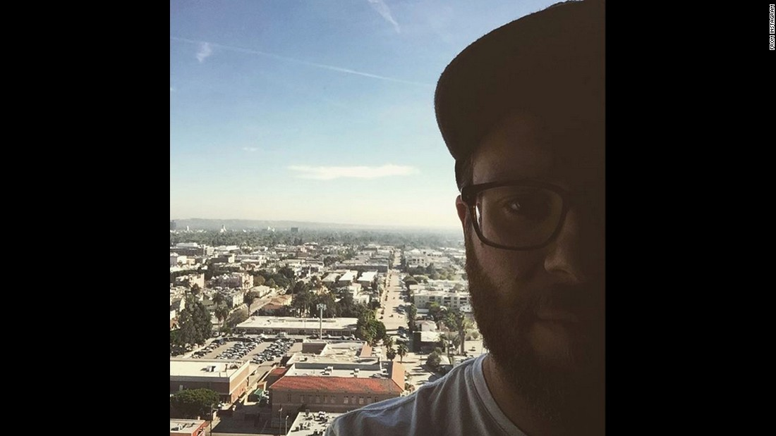 """I'm high (up),"" <a href=""https://www.instagram.com/p/BDYhPdQwFzy/"" target=""_blank"">said actor Seth Rogen</a> on Friday, March 25."