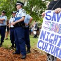 Sydney lockout laws protest