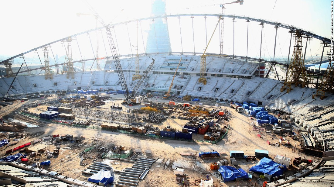 """""""For players and fans, a World Cup stadium is a place of dreams,""""  Amnesty International general secretary Salil Shetty said.  """"For some of the workers who spoke to us, it can feel like a living nightmare."""""""