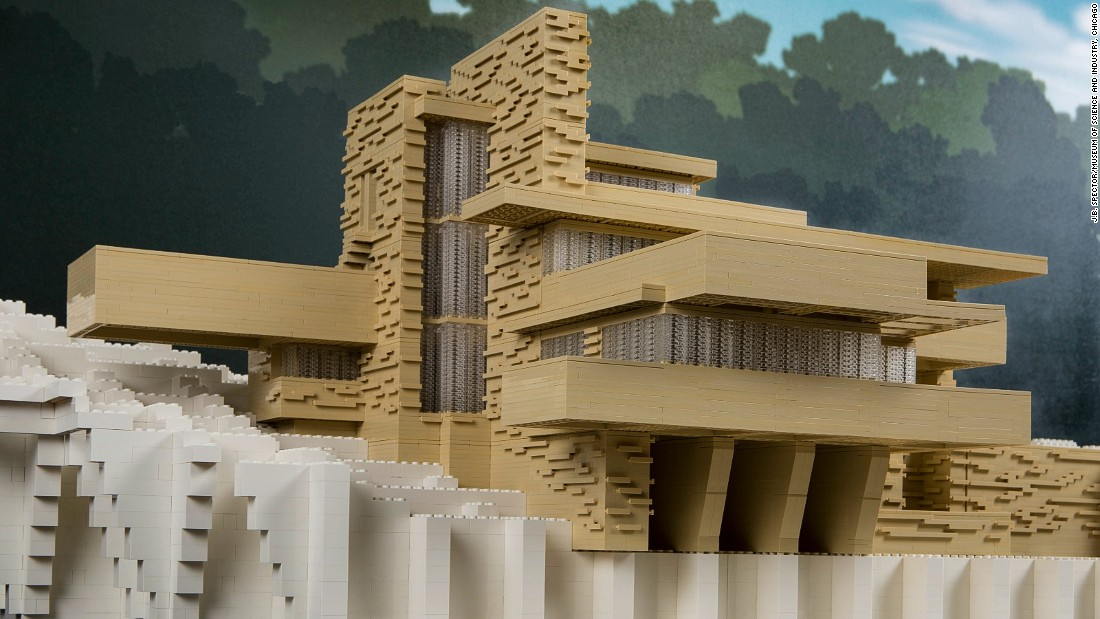 "Tucker, he says, hopes ""people looking at my work will also appreciate and learn about each architectural wonder and the creativity and imagination that's possible with the Lego brick."""