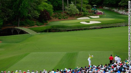 The short 12th at the heart of Augusta's Amen Corner is one of the most famous holes in golf.