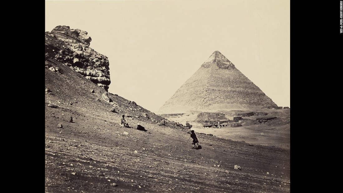 "This photo, taken by English photographer Francis Frith on his first visit to Egypt, is one of 26,000 images in the Sam Wagstaff Collection. Wagstaff was an important collector and curator of photography through the 1970s and '80s. He sold his collection to the J. Paul Getty Museum, which has just published a book about Wagstaff and his photographs called <a href=""http://shop.getty.edu/products/the-thrill-of-the-chase-the-wagstaff-collection-of-photographs-at-the-j-paul-getty-museum-978-1606064672"" target=""_blank"">""The Thrill of the Chase.""</a> As a collector, Wagstaff reveled in championing photographers who were not being shown in establishment museums."