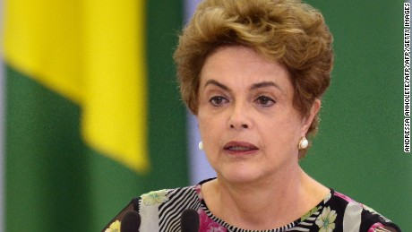 Brazil lawmakers vote to impeach president